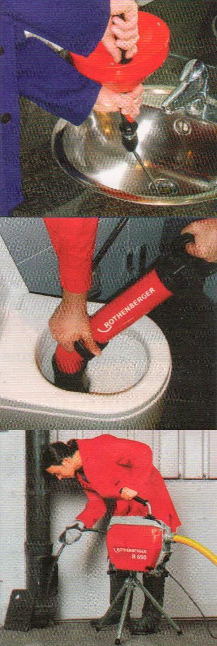 Прочистка засоров канализации своими руками 285